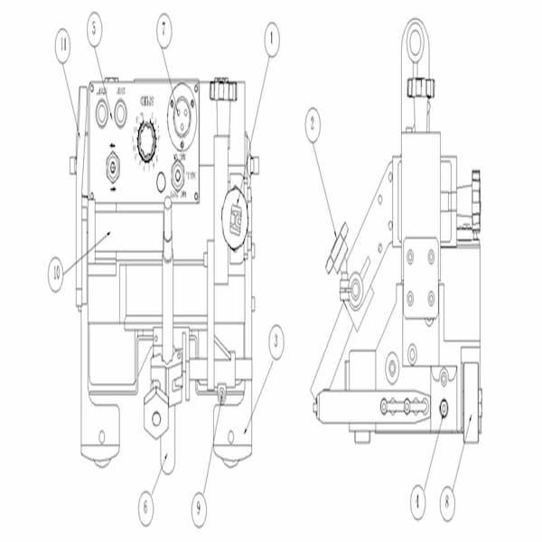 Chi tiết rùa hàn tự động HK-6A