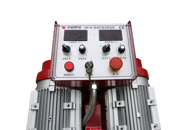 Bảng điều khiển máy vát mép CHP 80